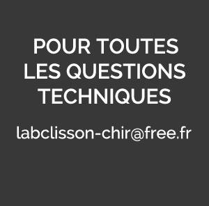 Pour vos questions techniques